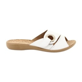 Białe Befado obuwie damskie pu 265D002