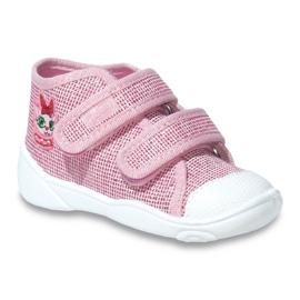 Befado obuwie dziecięce 212P056 różowe