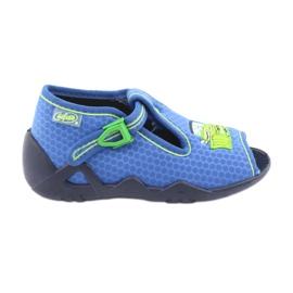 Niebieskie Befado obuwie dziecięce 217P094
