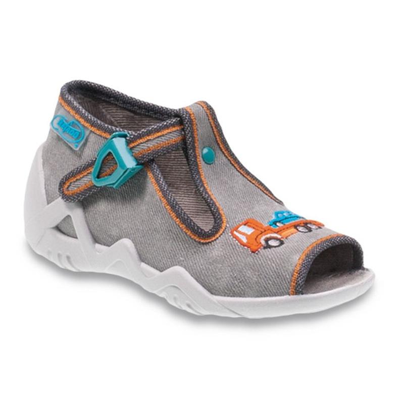 Befado obuwie dziecięce 217P089 szare
