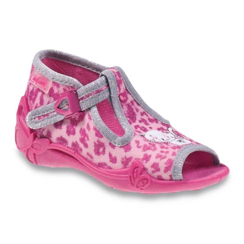 Befado różowe obuwie dziecięce 213P100