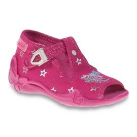 Befado różowe obuwie dziecięce 213P102