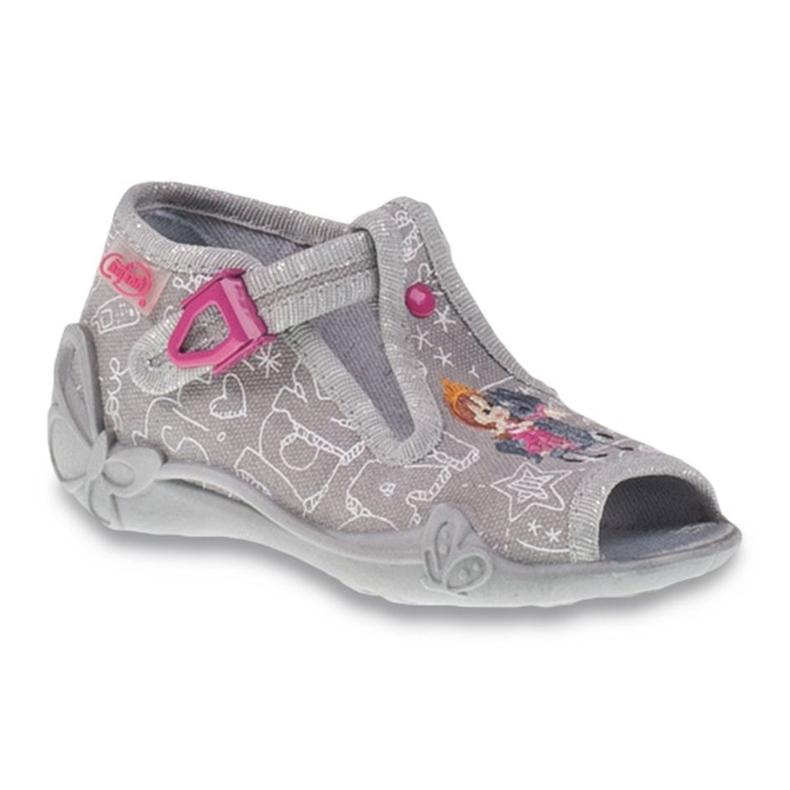 Befado szare obuwie dziecięce 213P103
