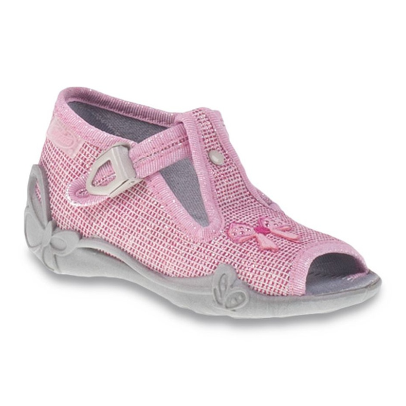 Befado różowe obuwie dziecięce 213P104