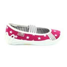 Różowe Befado obuwie dziecięce 193X063