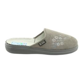 Befado obuwie damskie  pu 132D013 szare