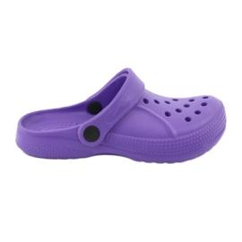 Fioletowe Befado inne obuwie dziecięce - fiolet 159Y002