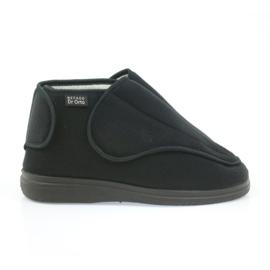 Befado obuwie damskie pu orto 163D002 czarne
