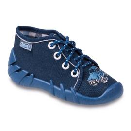 Befado granatowe obuwie dziecięce 130P058