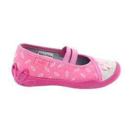 Różowe Befado obuwie dziecięce 116X234