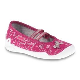 Befado obuwie dziecięce 116X236 różowe