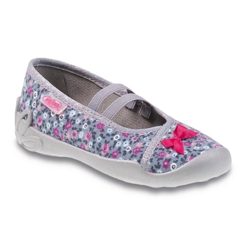 Befado obuwie dziecięce 116X227 różowe szare