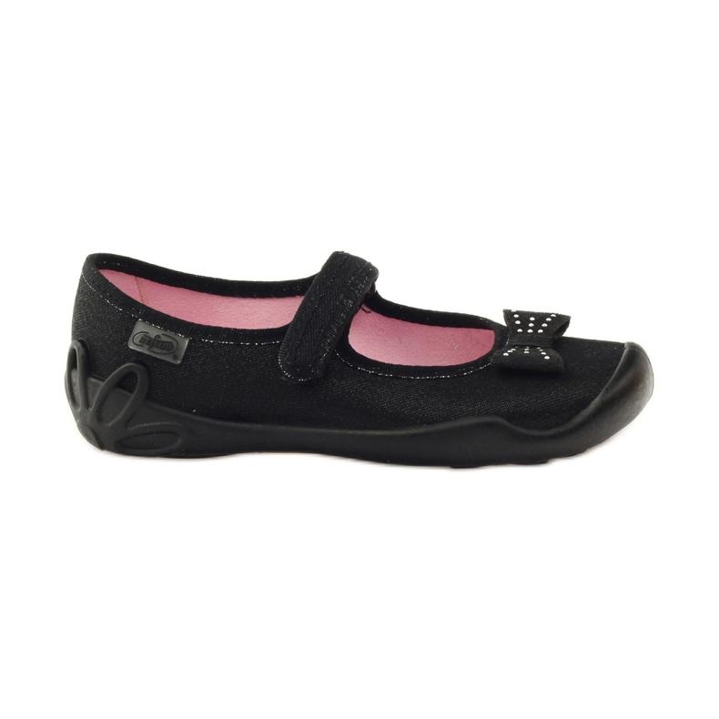 Befado obuwie dziecięce 114Y240 czarne