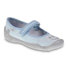 Befado obuwie dziecięce 114Y289 niebieskie