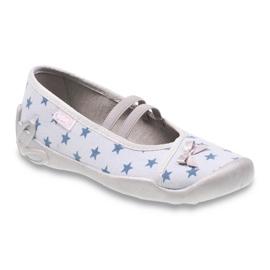 Befado obuwie dziecięce 116Y230 niebieskie