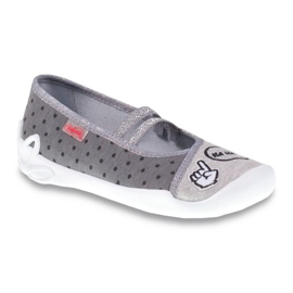 Befado obuwie dziecięce 116Y235 szare