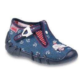 Befado obuwie dziecięce 110P311 granatowe