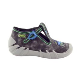 Befado szare obuwie dziecięce 110P316