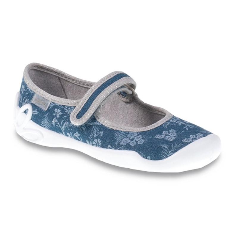Befado obuwie dziecięce 114Y283 niebieskie