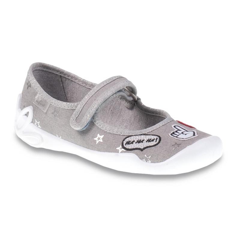 Befado obuwie dziecięce 114Y287 szare