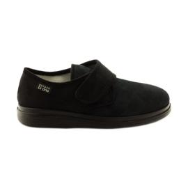Czarne Befado obuwie damskie pu 036D007