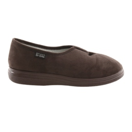 Brązowe Befado obuwie damskie pu 057D026