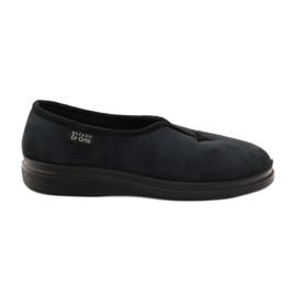 Granatowe Befado obuwie damskie pu 057D028