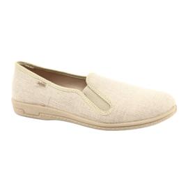 Befado obuwie męskie pvc 001M059 brązowe