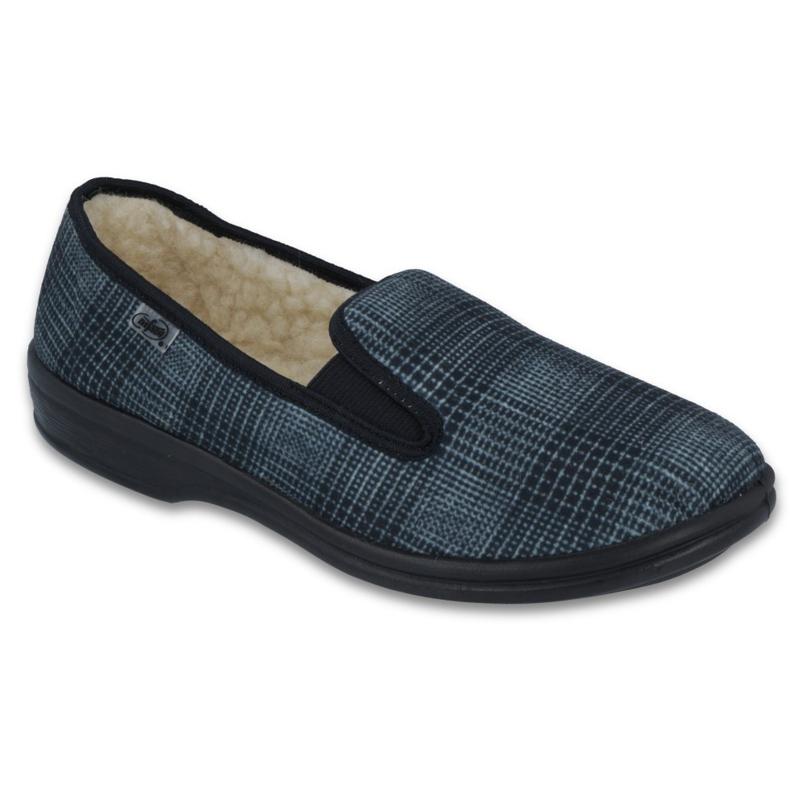 Befado obuwie męskie pu 096M082 szare