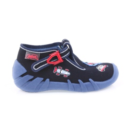Granatowe Befado obuwie dziecięce 110P305