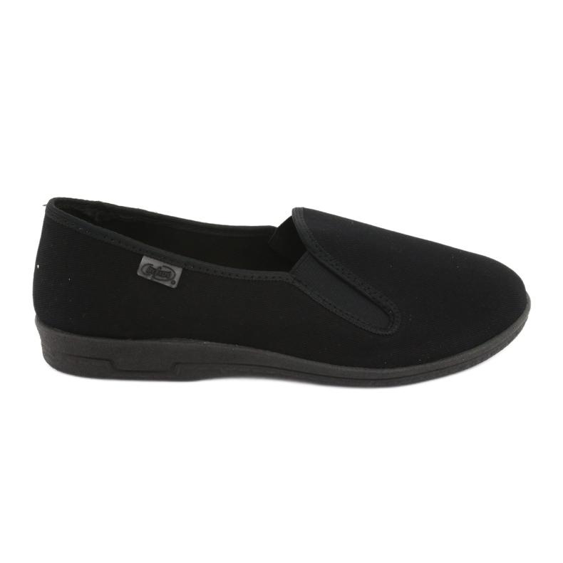 Befado obuwie męskie pvc 001M060 czarne