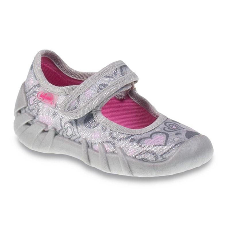 Befado obuwie dziecięce 109P161 szare