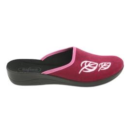 Różowe Befado obuwie damskie pu 552D003