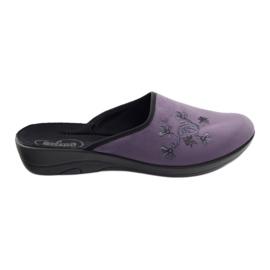 Fioletowe Befado obuwie damskie pu 552D006