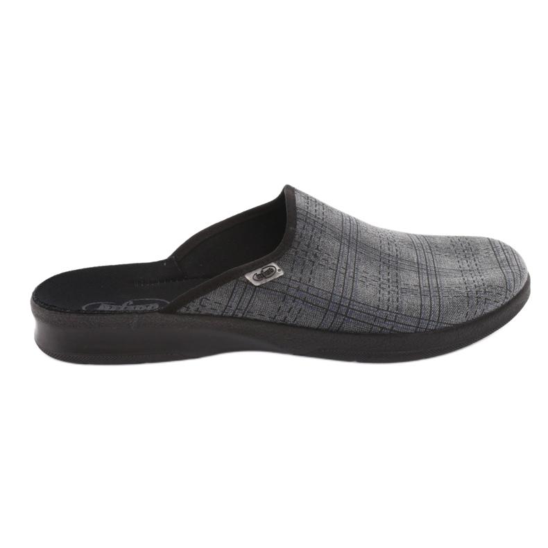 Befado obuwie męskie pu 548M002 szare