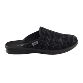 Czarne Befado obuwie męskie pu 548M003