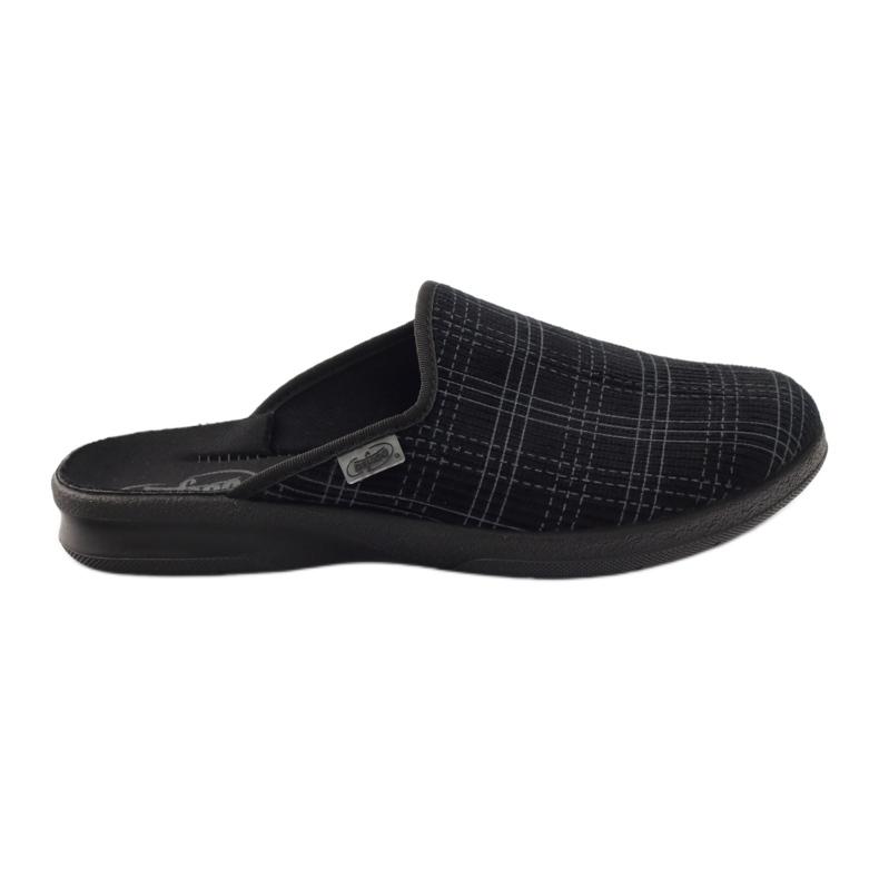 Befado obuwie męskie pu 548M003 czarne
