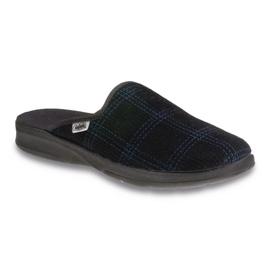 Befado obuwie męskie pu 548M005 czarne