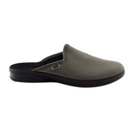 Befado obuwie męskie pu 548M008 szare