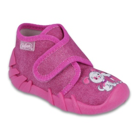 Befado obuwie dziecięce 525P013 różowe