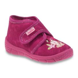 Befado różowe obuwie dziecięce 529P026