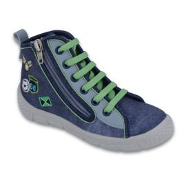 Granatowe Befado obuwie dziecięce 547X002