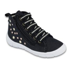 Czarne Befado obuwie dziecięce 547X003