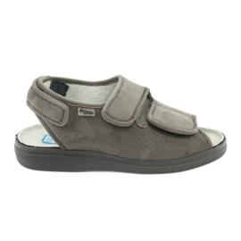 Befado obuwie damskie pu 676D006 szare