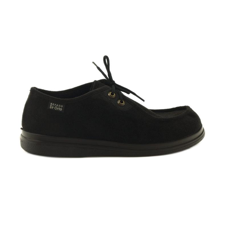 Befado obuwie damskie pu 871D004 czarne