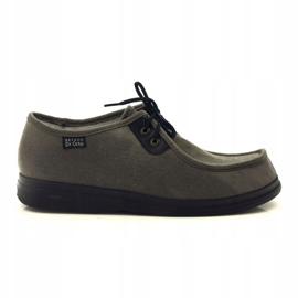 Befado obuwie  męskie  pu 871M006 brązowe