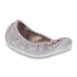 Befado obuwie dziecięce 893Y108 szare