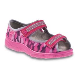 Różowe Befado obuwie dziecięce  969X120