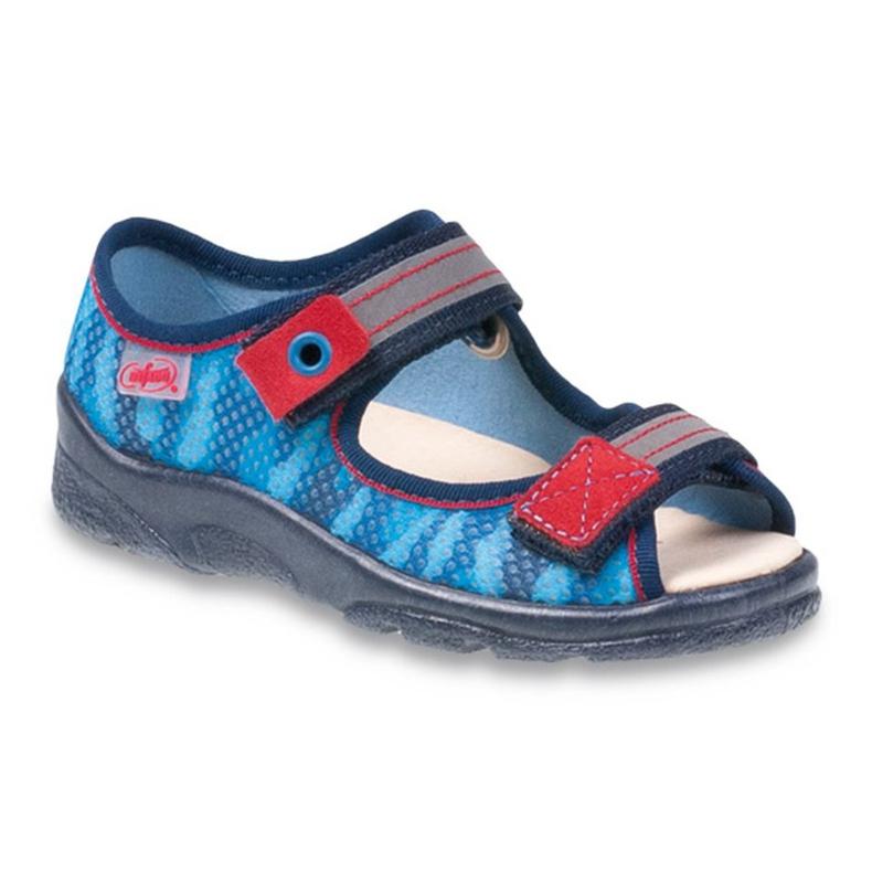Befado obuwie dziecięce 969Y111 niebieskie