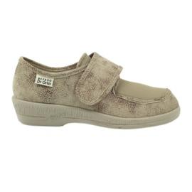 Brązowe Befado obuwie damskie pu 984D013